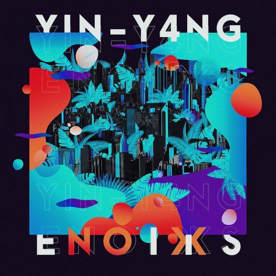 Okładka płyty Enoiks: YIN-Y4NG