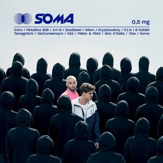 Okładka płyty Taconafide: Soma 0,5 mg