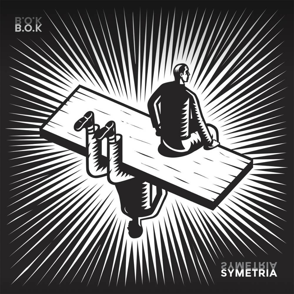 Okładka B.O.K - Symetria