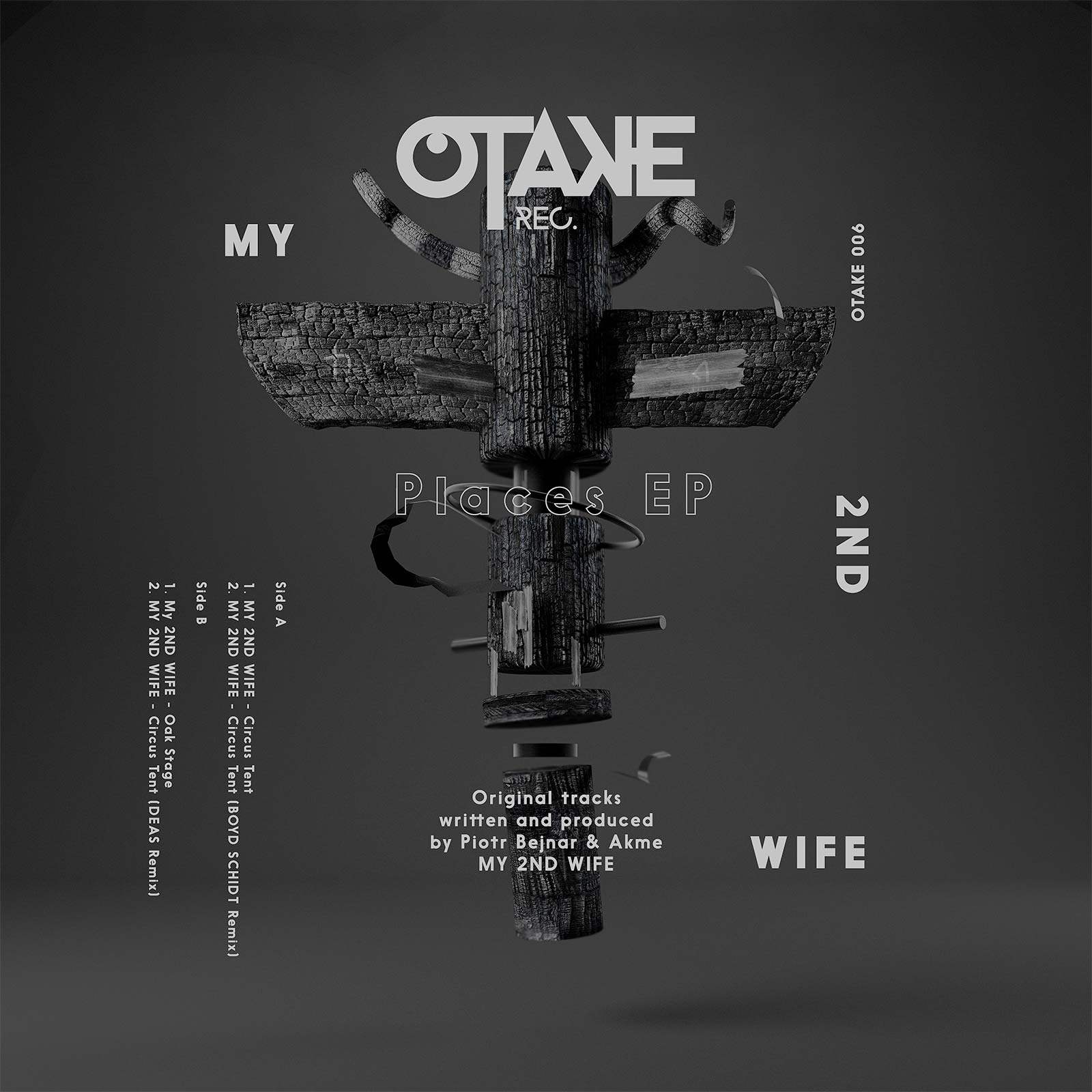 MY 2ND WIFE - Places EP
